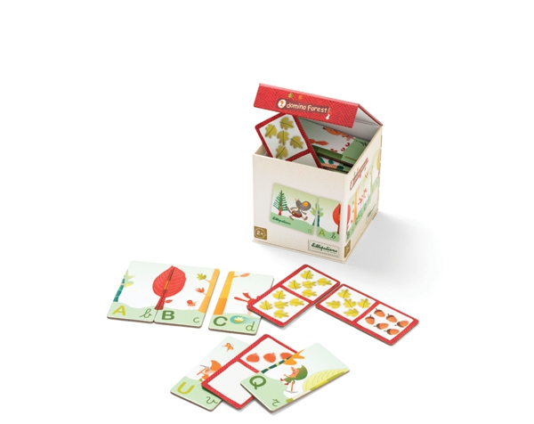 Forest 2 Domino Game de Lilliputiens Ofertas