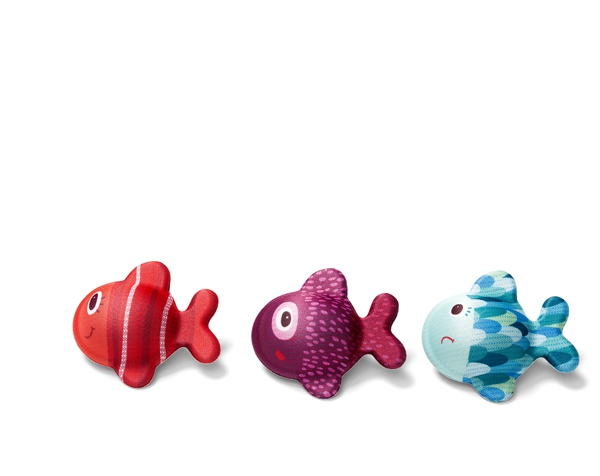 César, the hungry bear and the bath time fish- bath fun de Lilliputiens Ofertas