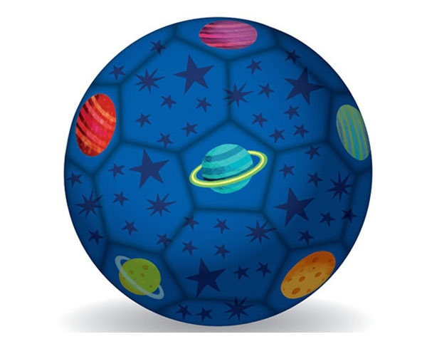 Soccer Ball Space 18 cm de Crocodile Creek
