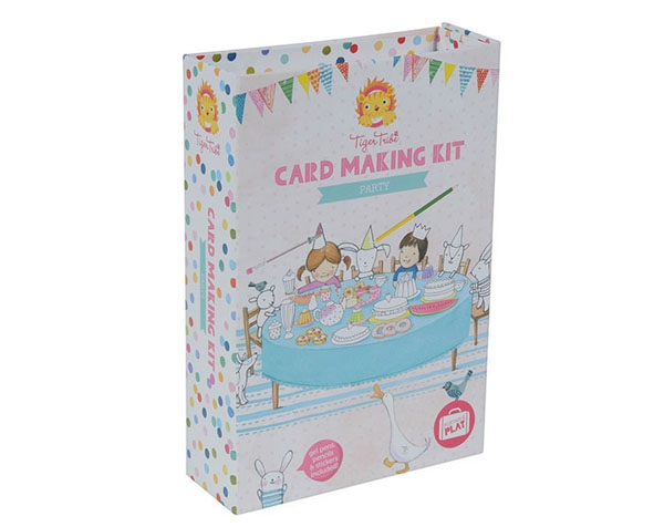 Card Making Kit Party de Tiger Tribe