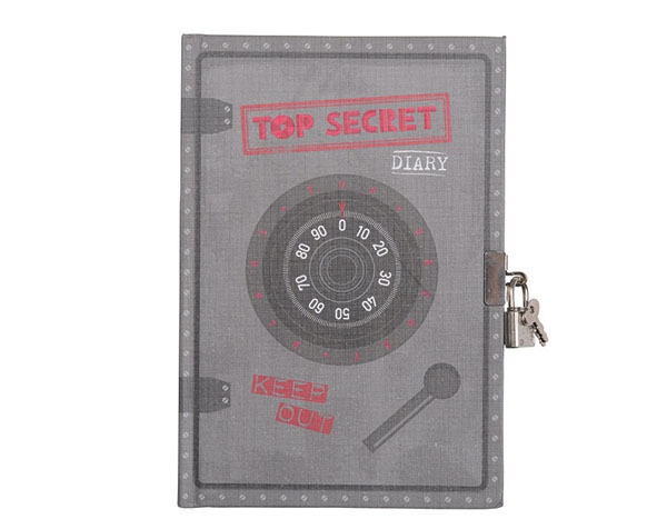 My Diary Top Secret de Tiger Tribe