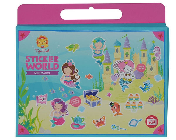 Sticker World Mermaid de Tiger Tribe
