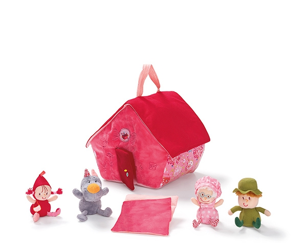 Little red riding hood house de Lilliputiens Ofertas