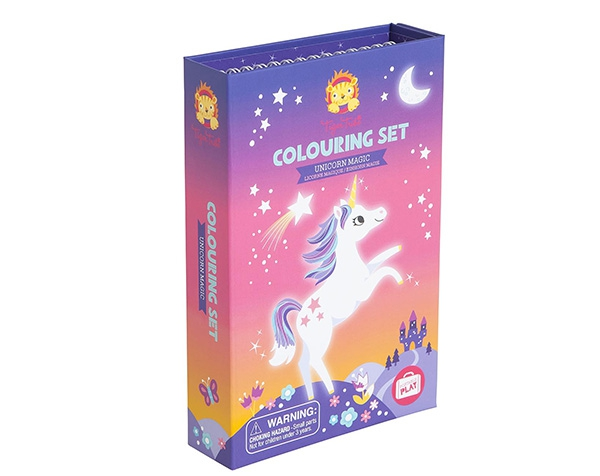 Colouring set Unicorn magic de Tiger Tribe