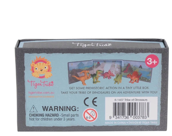Tribe of Dinosaurs (16 pc in Display) de Tiger Tribe