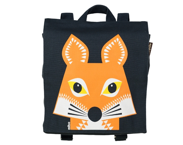 Fox Slaten Grey Backpack de Coq en Pâte