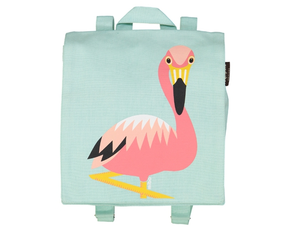 Flamingo blue backpack de Coq en Pâte