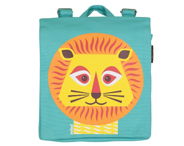 Lion blue backpack de Coq en Pâte