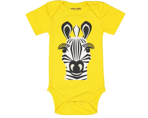 Zebra Yellow body MC T-12 de Coq en Pâte