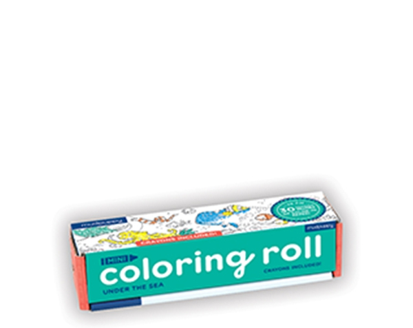 Mini Coloring Roll/Under the Sea de Mudpuppy