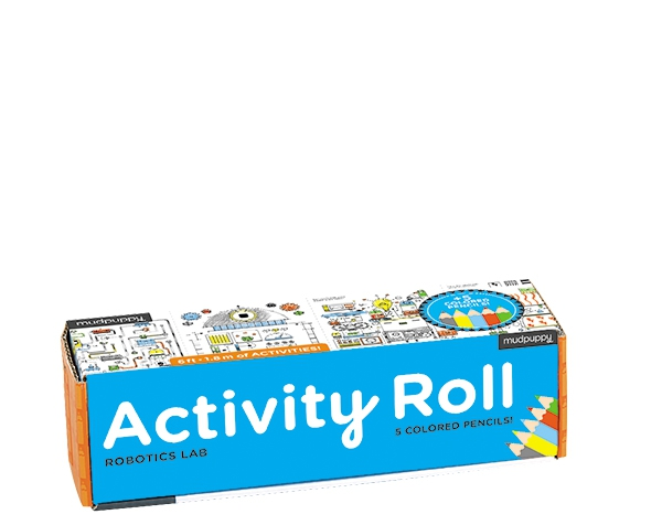 Activity Roll/Robotics Lab  de Mudpuppy