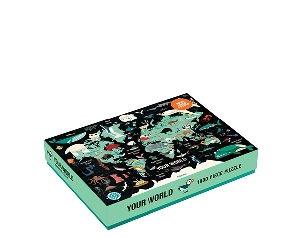 1000 PC Puzzle/Your World de Mudpuppy
