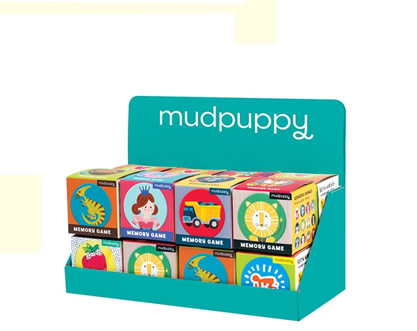 Display/Mini Memory 16 de Mudpuppy
