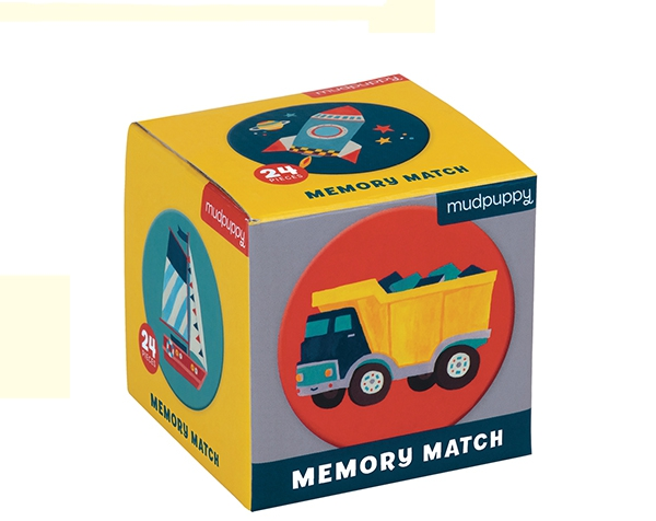 Mini Memory Game/Transportation de Mudpuppy