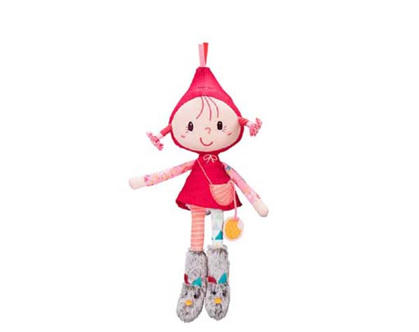 Little Red riding hood mini-doll de Lilliputiens