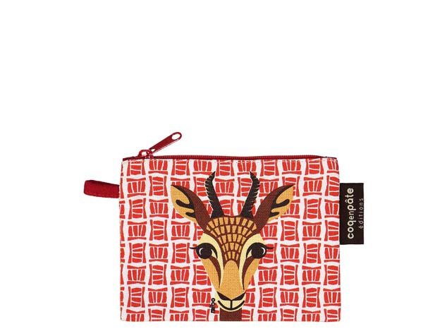 Gazelle Red Purse de Coq en Pâte