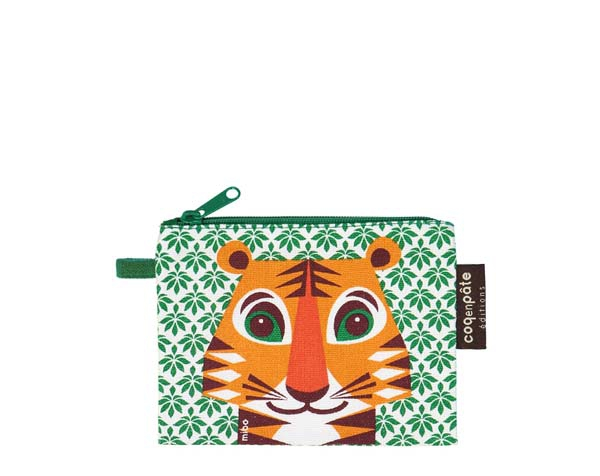 Tiger Green Purse de Coq en Pâte