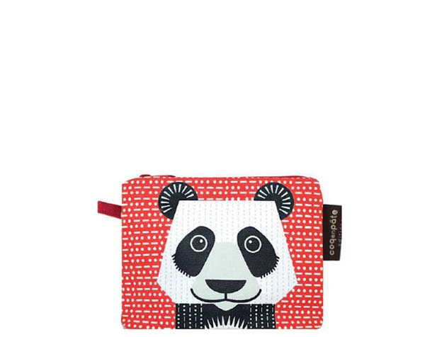Panda Red Purse de Coq en Pâte