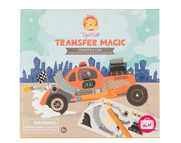 Transfer Magic Create a Car de Tiger Tribe