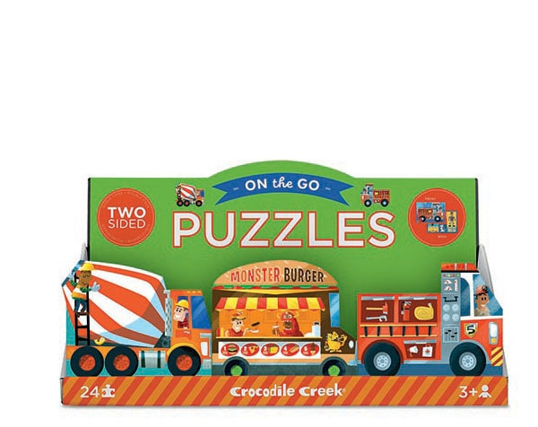 Puzzle 2-Sided Display de Crocodile Creek