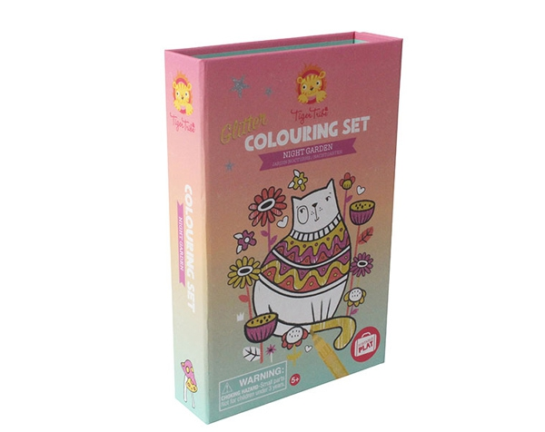 Glitter Colouring Sets Night Garden de Tiger Tribe