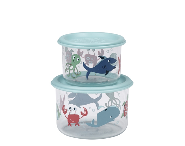 Ocean Good Lunch Snack Containers (Set of 2) de Sugarbooger