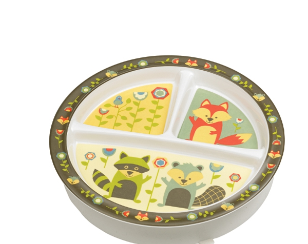 What Did The Fox Eat? Divided Suction Plate (3 areas) de Sugarbooger