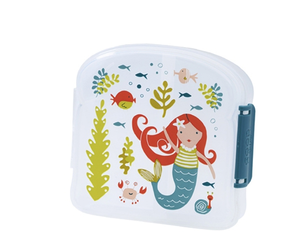 Isla The Mermaid Good Lunch Sandwich Box de Sugarbooger