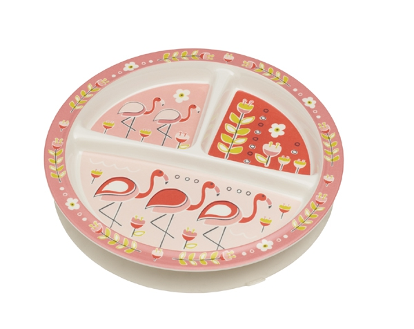 Flamingo Divided Suction Plate (3 areas) de Sugarbooger