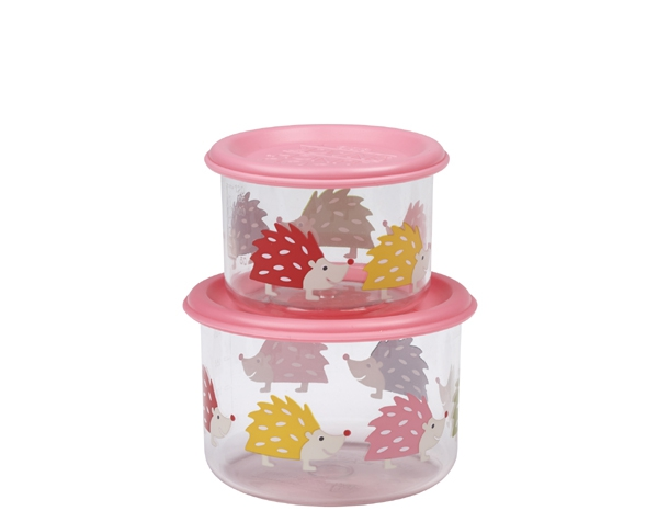 Hedgehog Good Lunch Snack Containers (Set of 2) de Sugarbooger