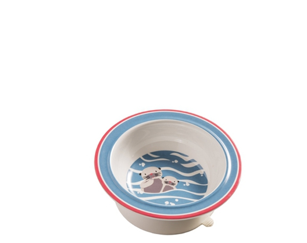 Baby Otter Suction Bowl de Sugarbooger