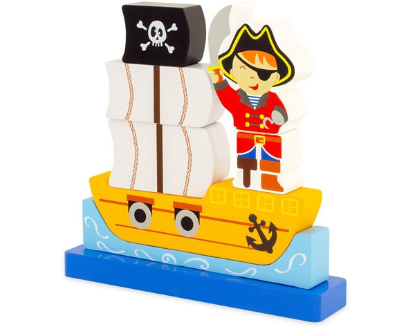 Magnetic Puzzle Pirate (Pack 12) de Ulysse