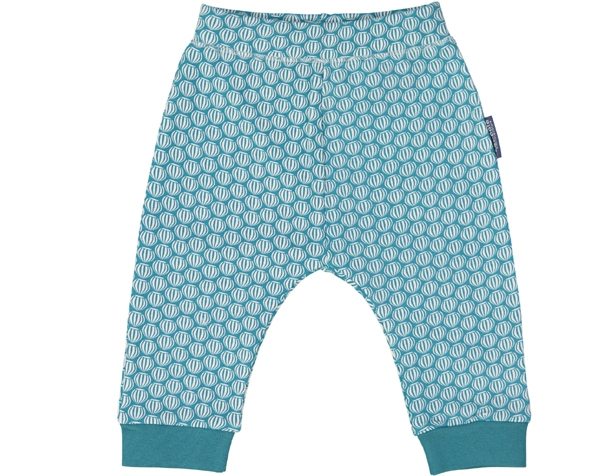 Squirrel teal blue Legging 12 m. de Coq en Pâte