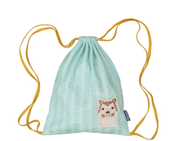 Hedgehog pastel blue  Sleep Suit Bag 27x35 cms. de Coq en Pâte