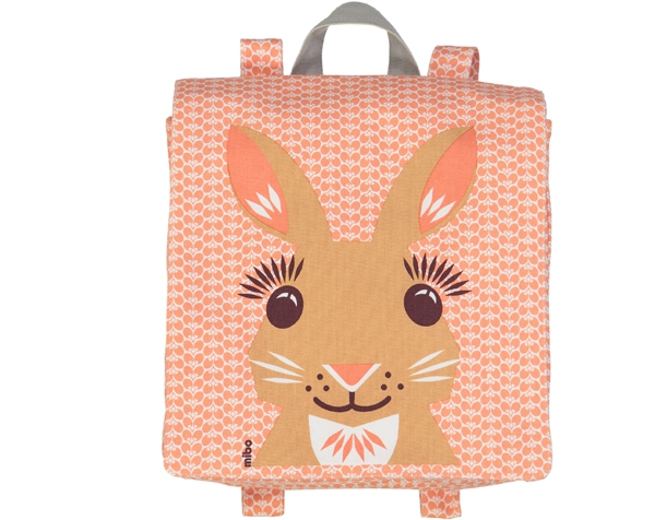 Rabbit Pink cream BackPack de Coq en Pâte