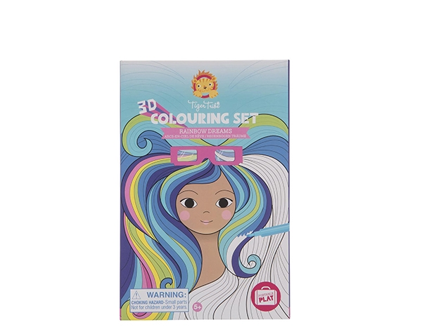 Colouring Sets special 3D ColouringSets Rainbow Dreams de Tiger Tribe