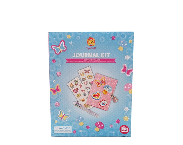 Creative Kits Journal Kit Sequins Stickers de Tiger Tribe