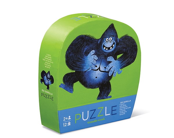 Puzzle Mini Go Gorilla 12 pc de Crocodile Creek