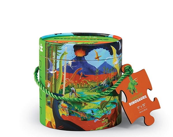 Mini Canister Land of Dinosaurs 24 pc de Crocodile Creek