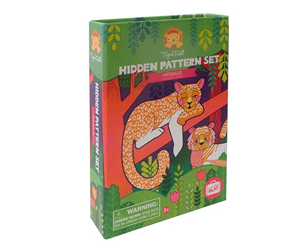 Hidden Pattern Animals de Tiger Tribe