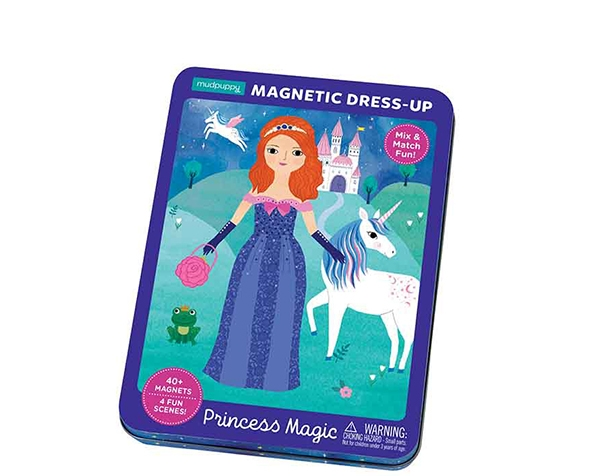 Magnetic Tins Princess de Mudpuppy