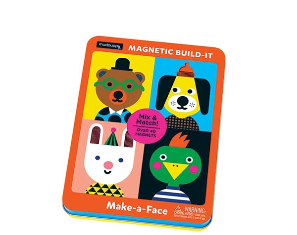 Magnetic Tins Make-a-Face de Mudpuppy