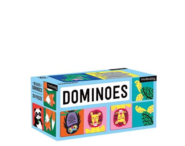 Dominoes Wildlife de Mudpuppy