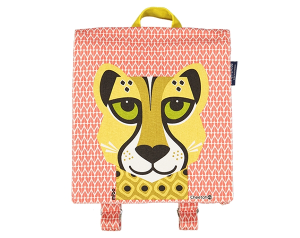 LC love cats Cheetah backpack 23x23x8cm de Coq en Pâte Permanente y Accesorios