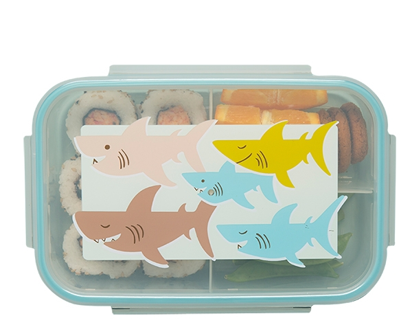 Smiley Shark Good Lunch Bento Box de Sugarbooger