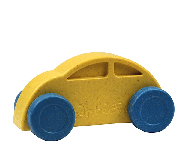 Car Yellow Blue de Anbac