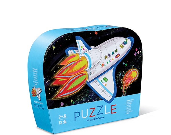 Puzzle Mini Blast Off 12 pc de Crocodile Creek