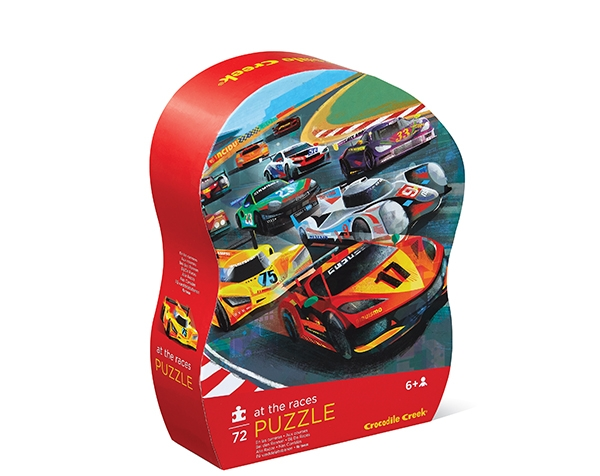 Puzzle 72 pc. At the Races de Crocodile Creek