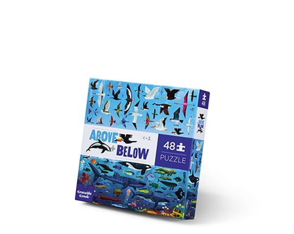 Puzzle Above and Below Sea and Sky 48 pc de Crocodile Creek