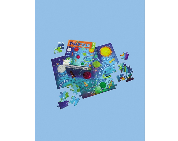 Puzzle Foil Outer Space 60 pc de Crocodile Creek